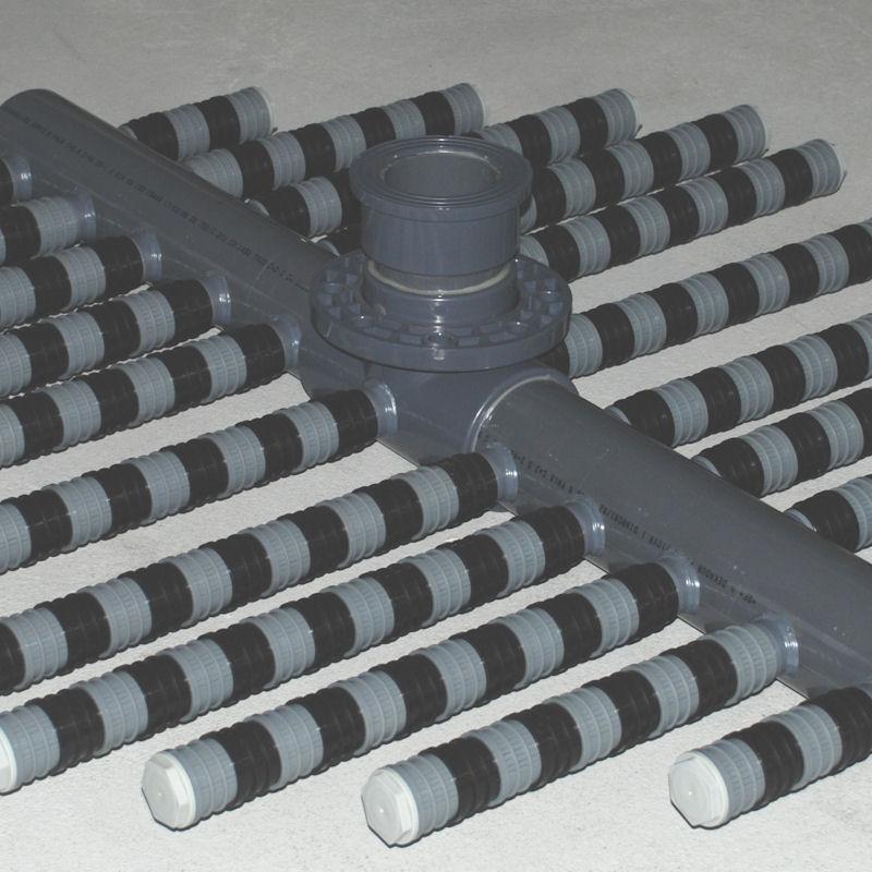 sistema de drenaje modelo DSC