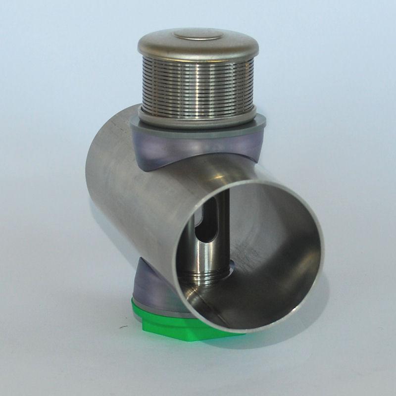 crepina en acero inox modelo HTS