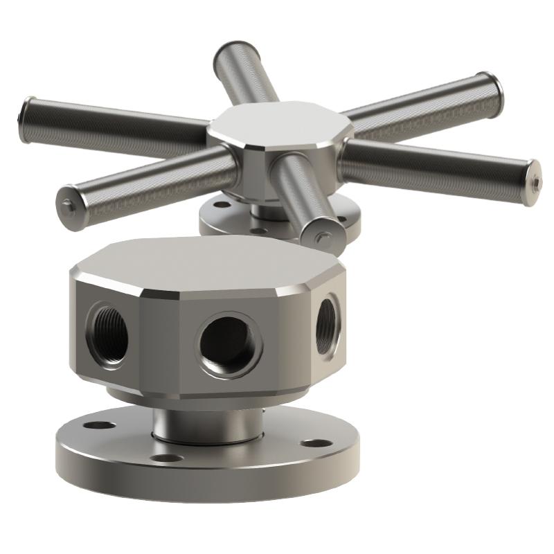collecteur de drainage en acier inoxydable mod.CAD06