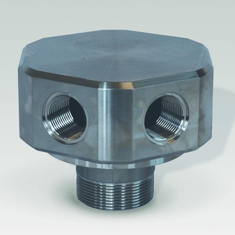 collecteur de drainage en acier inoxydable modele CAD06