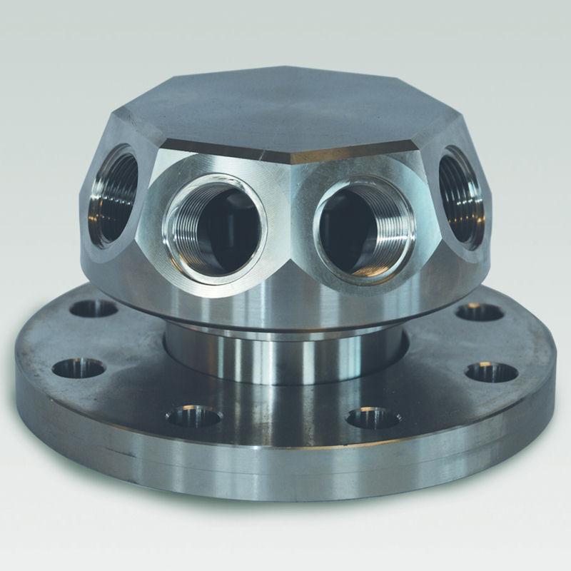 drainage inferieur en acier inoxydable modele CAI08