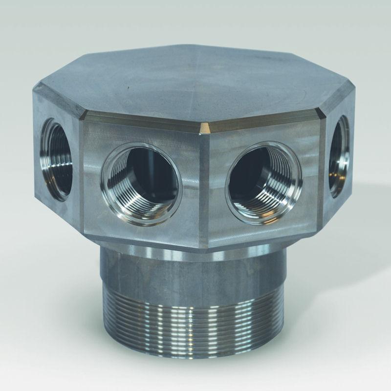 crepine etoile acier inoxydable modele CAD08