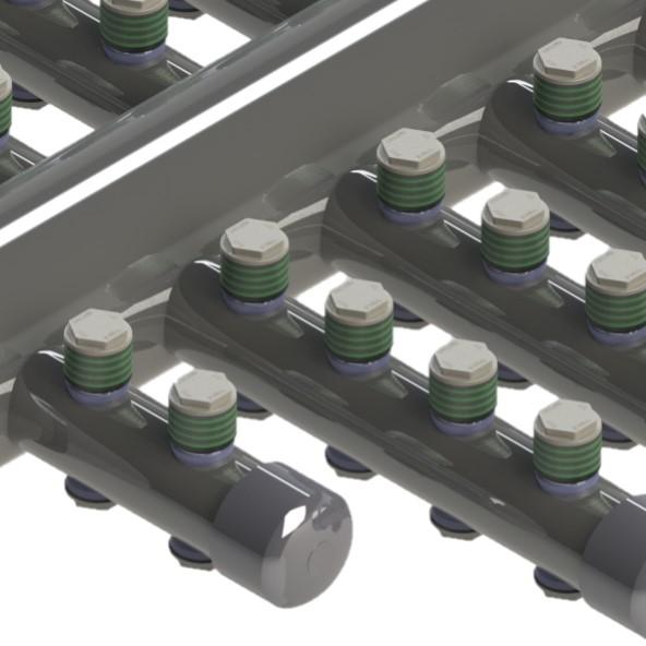 polypropylene nozzle mod.D4TS