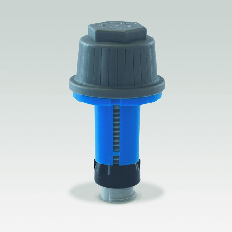 filter nozzle vertical slots model PTL